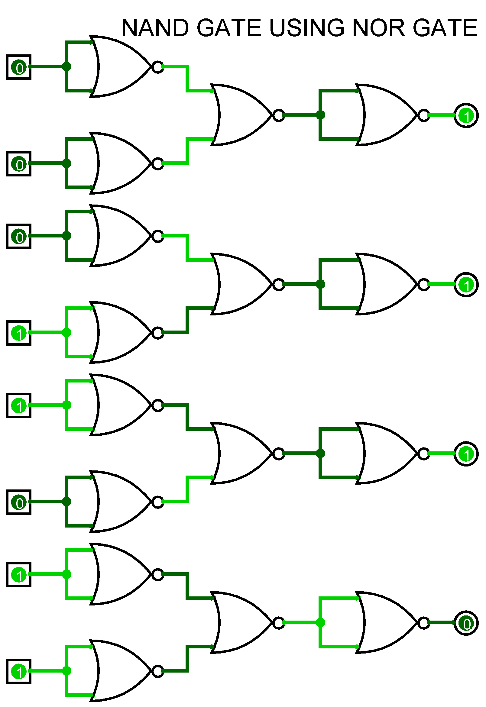 circut diagram nand gate logic diagram using nand gate to study and verify the truth table of logic gates. – ahirlabs