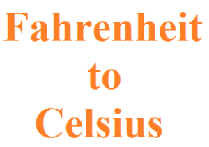 Fahrenheit to Celsius In JAVA