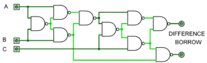 Full_Subtractor_Nand