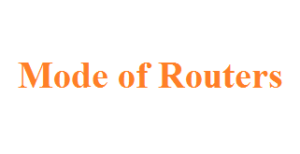 Access Router using console & Modes of Routers