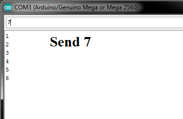 Arduino Serial read Send value