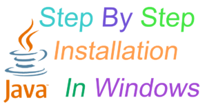 java install in windows,basi steps to install java
