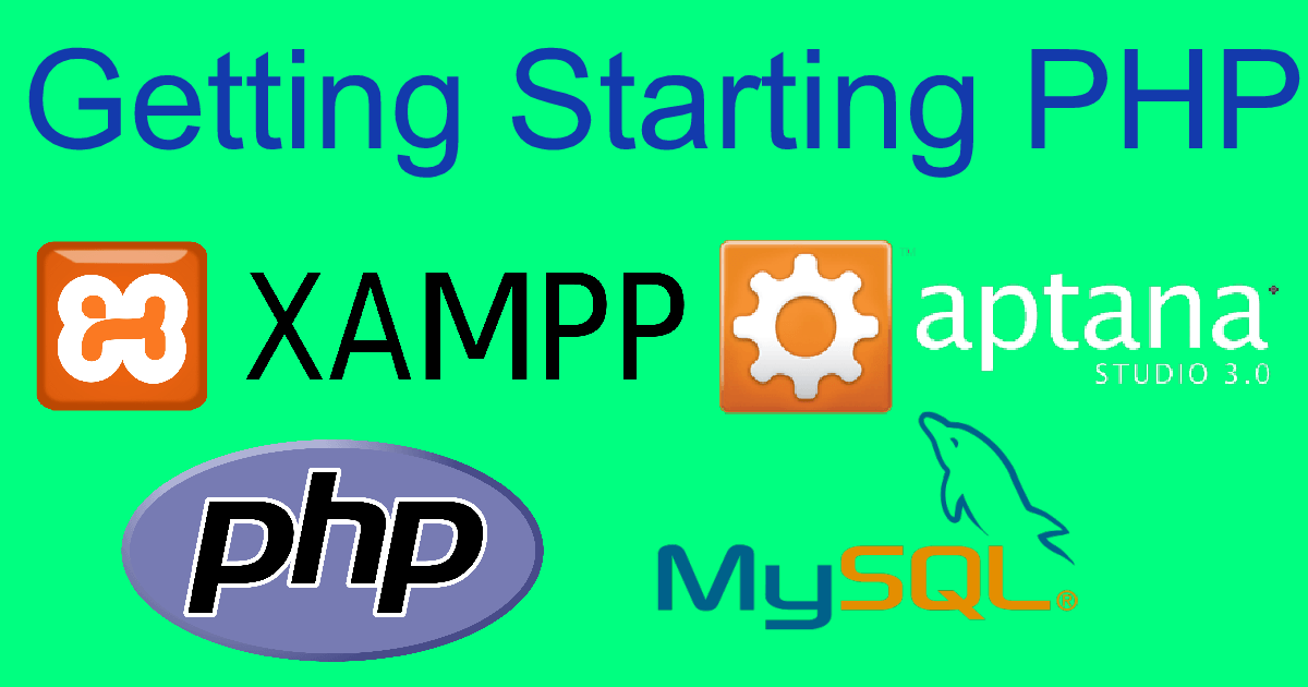Getting Starting PHP