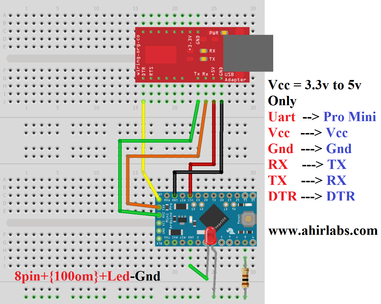 Understand To Use Arduino Pro Mini ?
