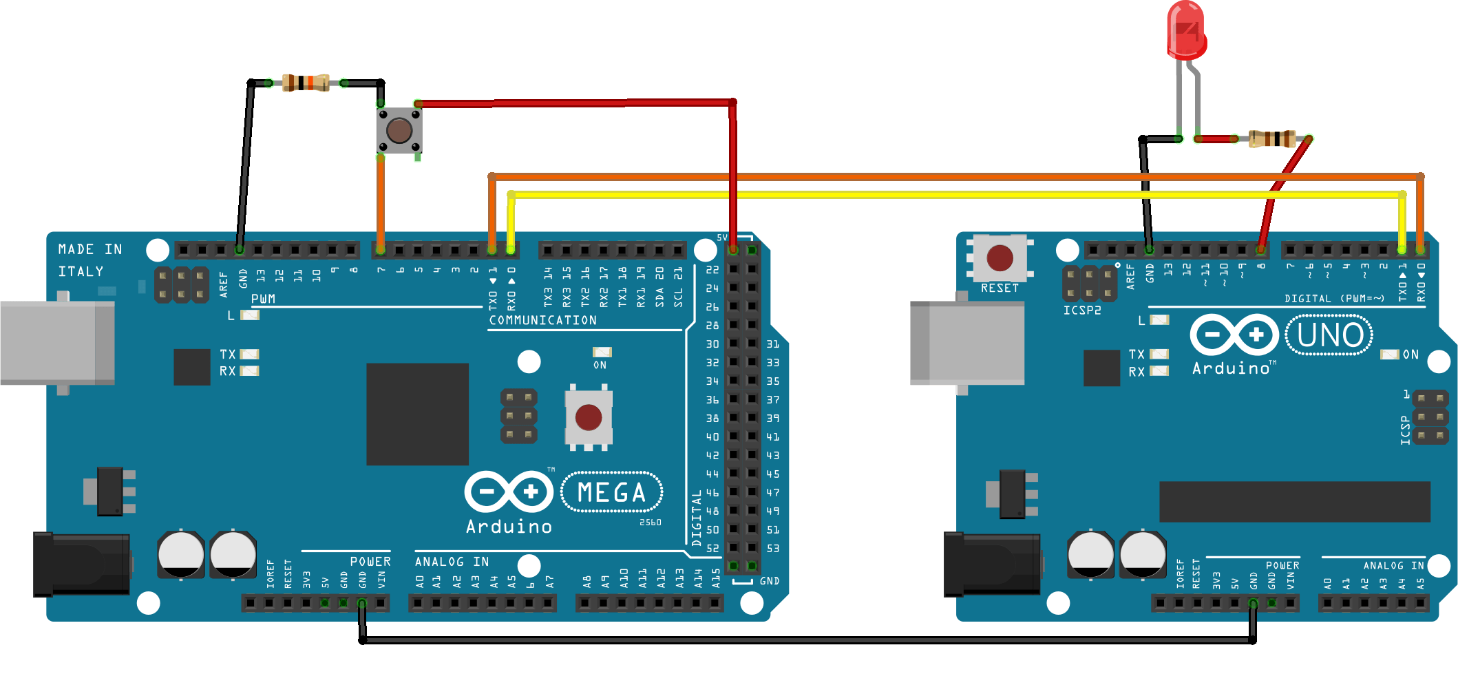 Communication Between Two Arduino