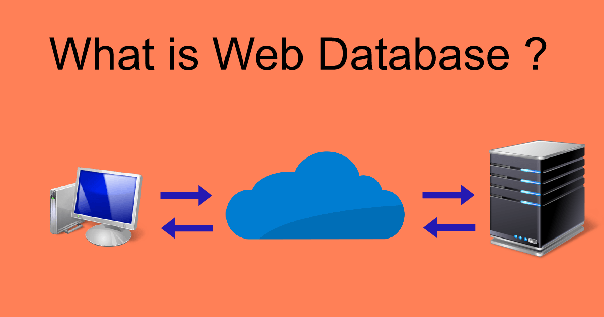 What is Web Database ?