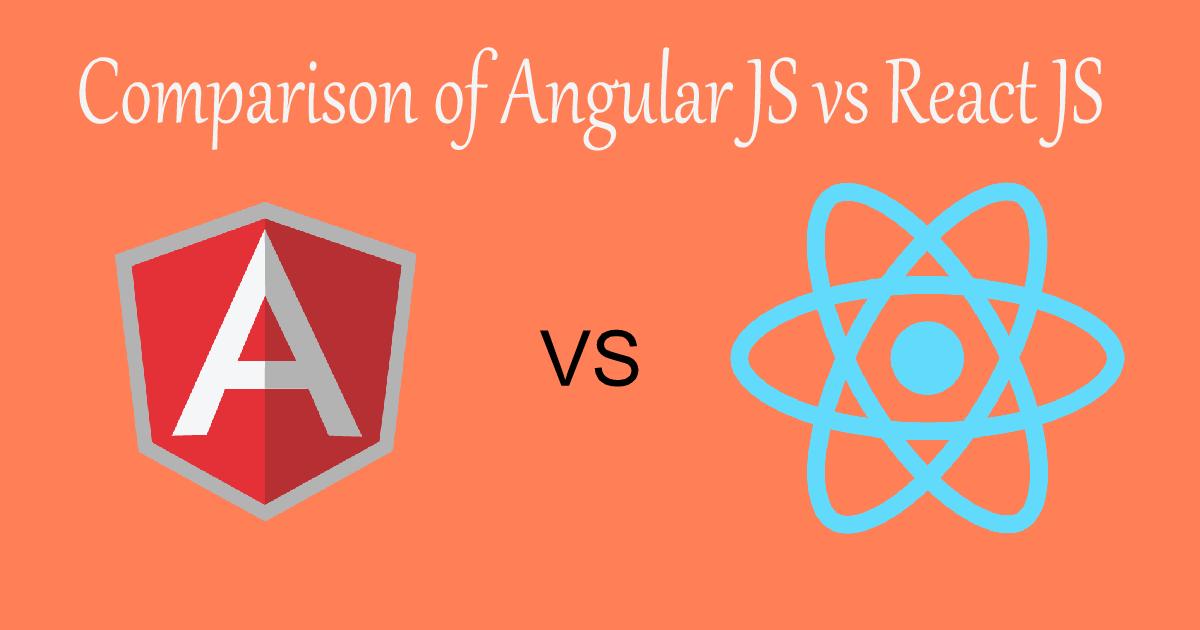 Angular JS vs React JS