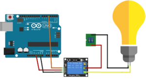 Relay Circuit Diagram with Arduino