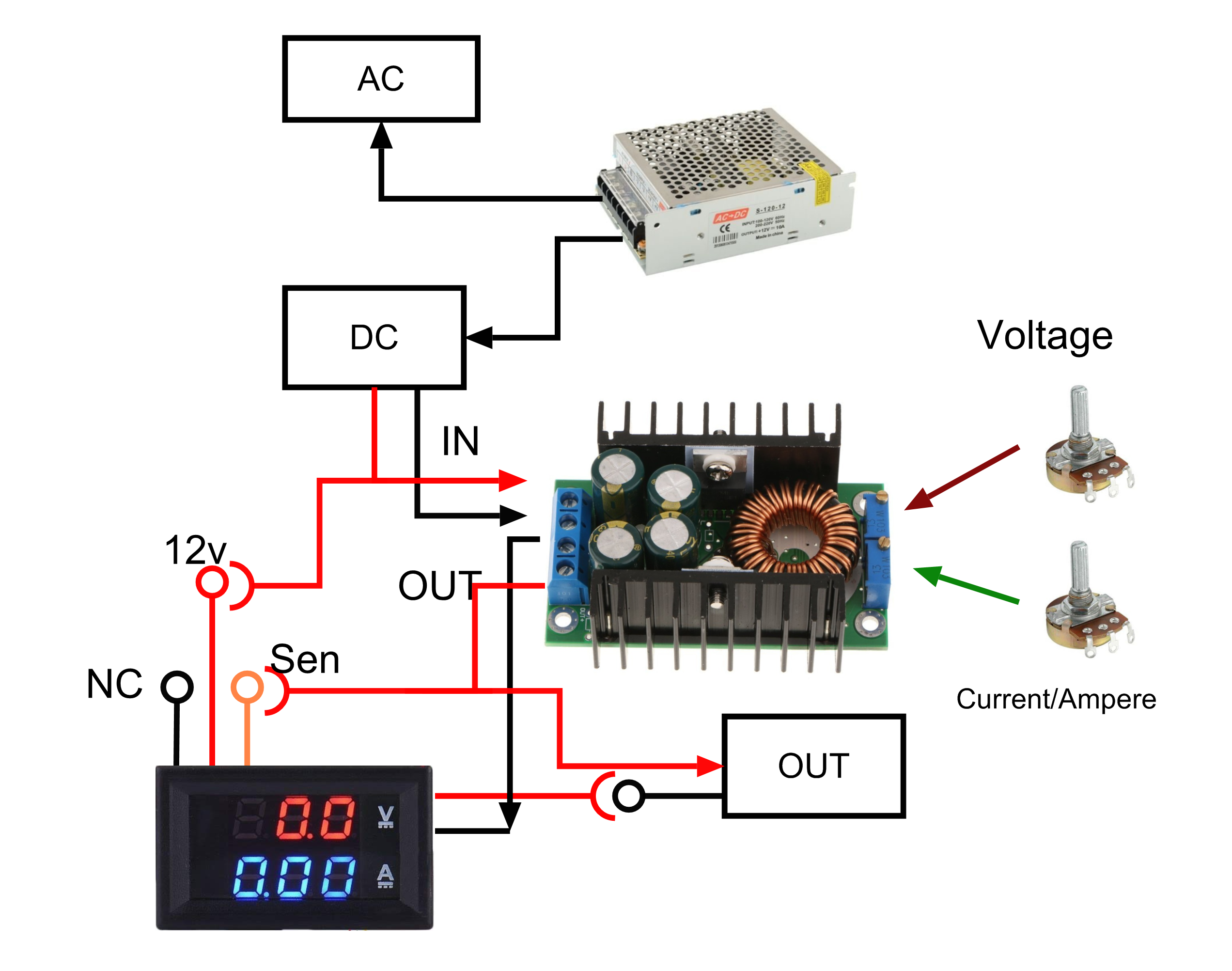 How To Make Simple Bench Power Supply Ahirlabs Dc Semiconductors And Digital Electronics In An Easy Understand