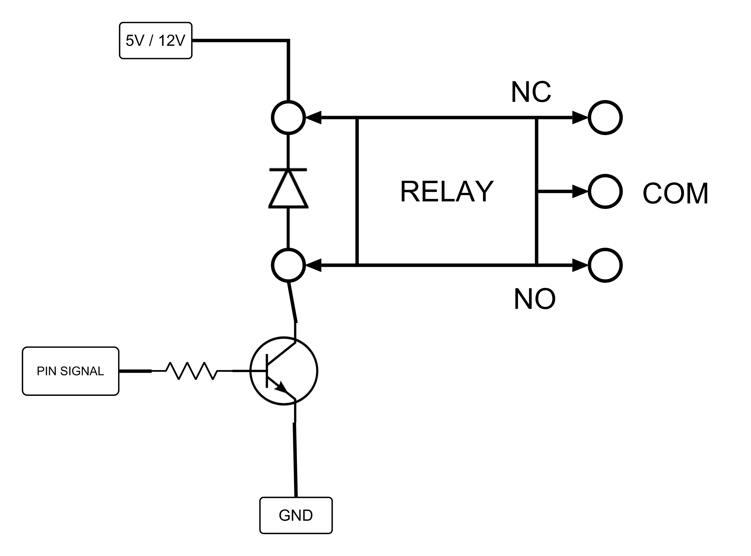 understanding relay in electronics with different types of relay