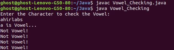 Vowel_Checking